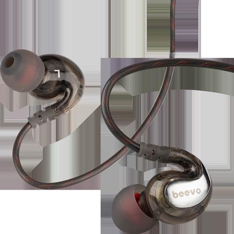 宾禾耳机挂耳式有线耳机入耳式重低音高音质带麦控降噪K歌吃鸡监听耳机电脑vivo华为oppo手机通用