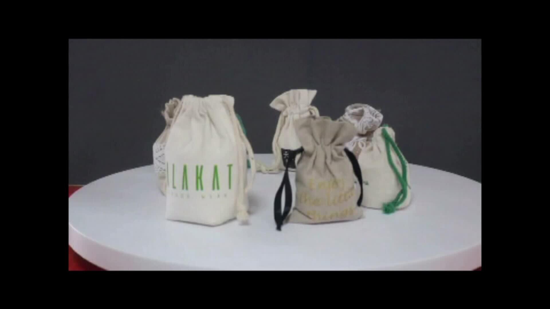 Commercio all'ingrosso di cotone di tela coulisse cotone sacchetto scarpa sacchetto di cotone sacchetto di polvere