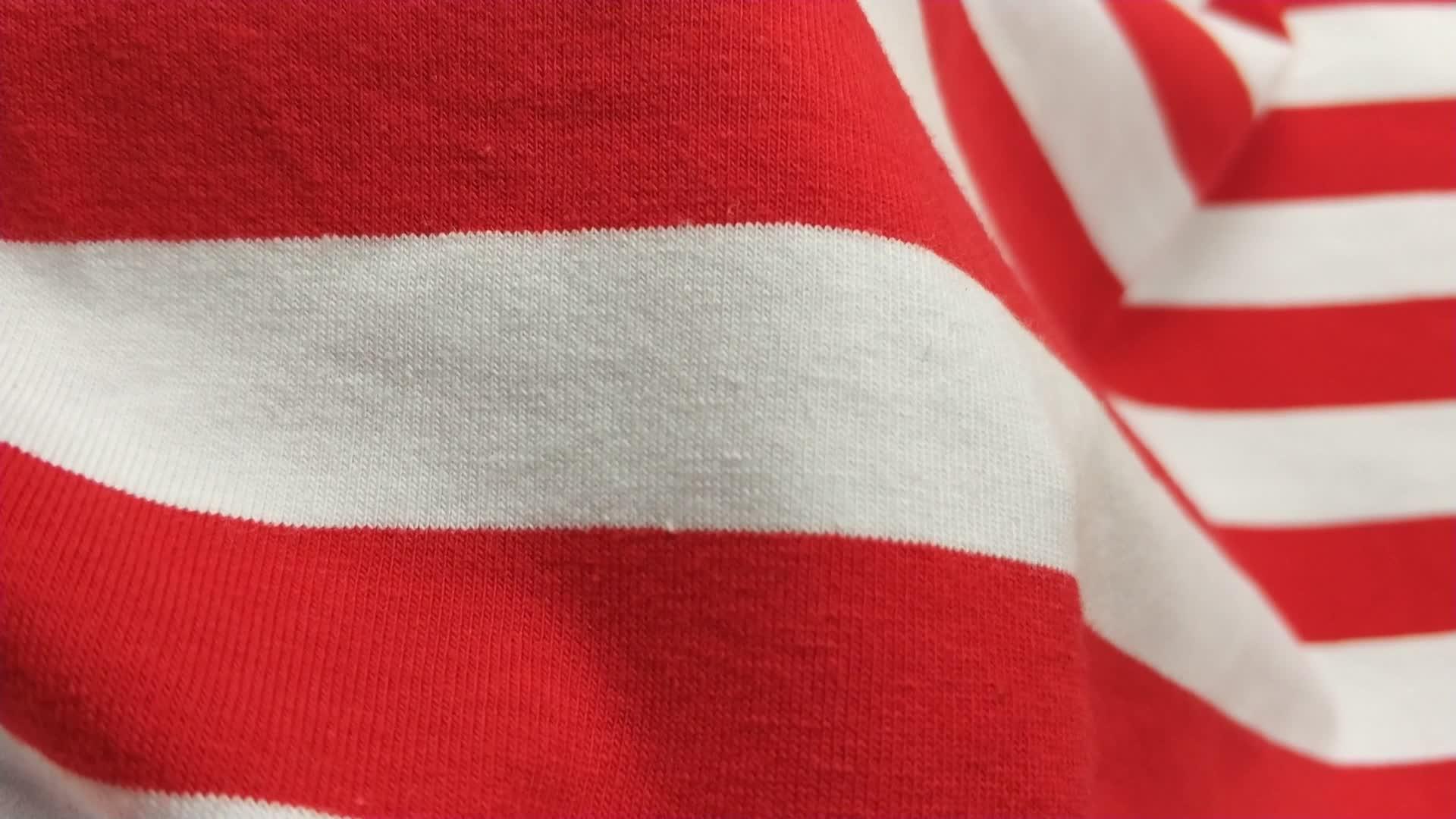 Günstige Preis 100% Baumwolle Spandex Strickware Single Jersey Stoff,