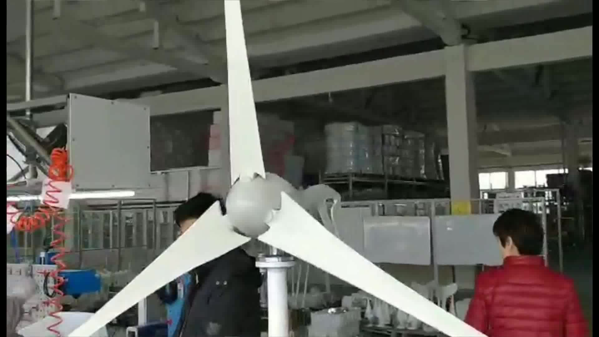 S2 series 12V 24V Nylon fiber small Wind Generator Turbine 400W 5 blades with 600W Waterproof Controller
