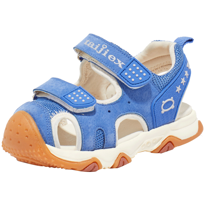 男童凉鞋2019夏新款护脚凉鞋女童鞋宝宝防滑凉鞋儿童休闲机能鞋