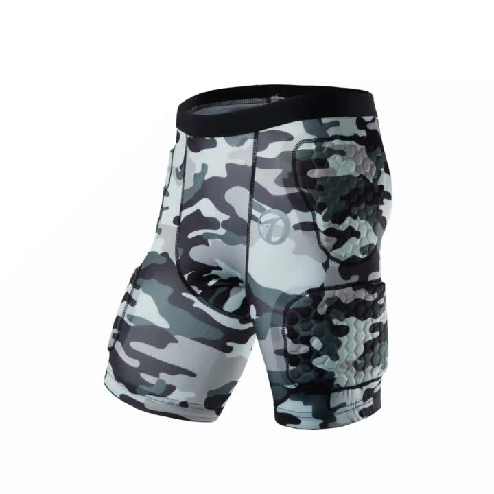 Sublimation Camo Sports Clothing Basketball Compression