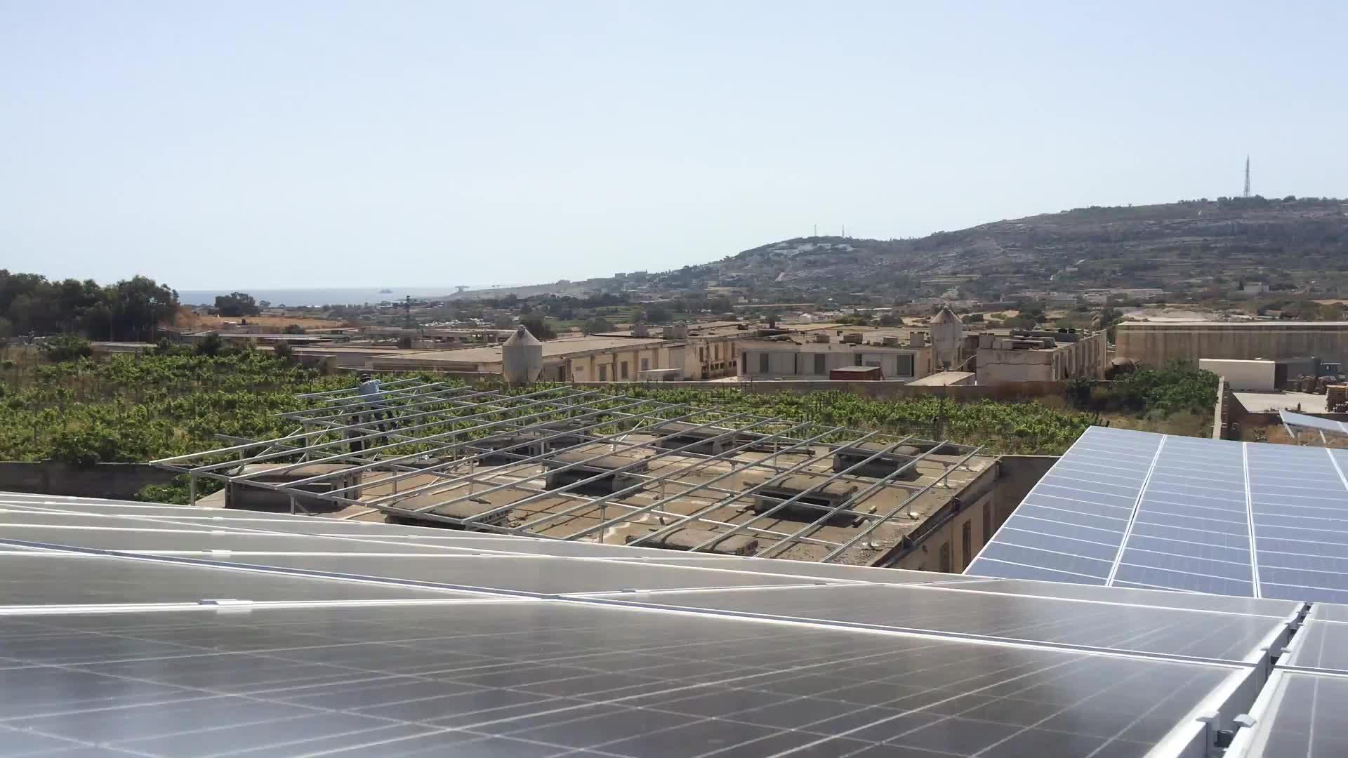 5bb 340watt 350w 48 Volt Mono Solar Panels For Home Solar