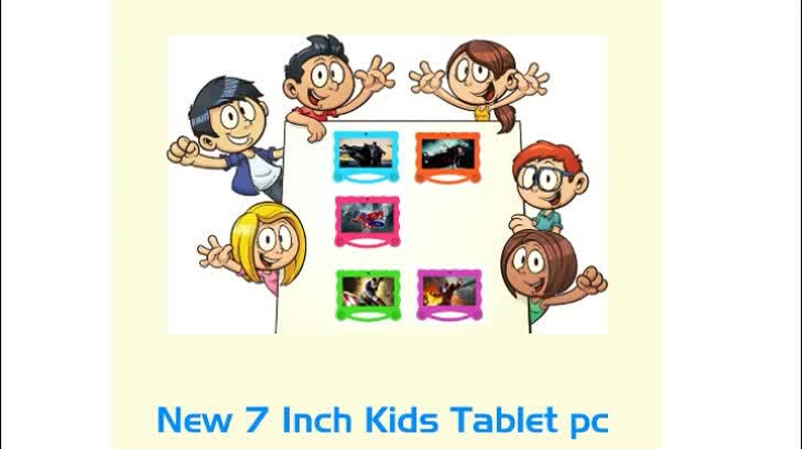 7 inch quad core cute colorful android super smart tablet pc
