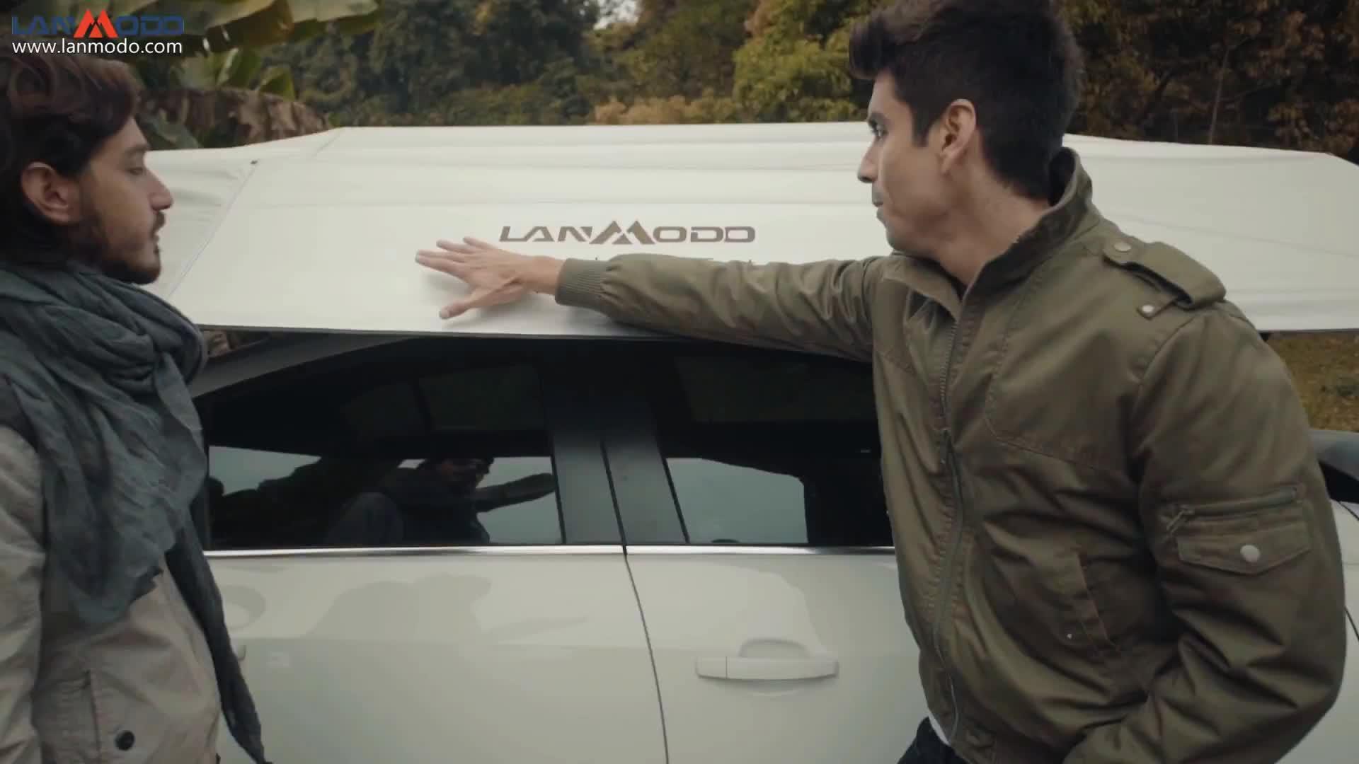 2018 Patentinhaber Lanmodo hagelsichere automatische Fahrzeugabdeckungen