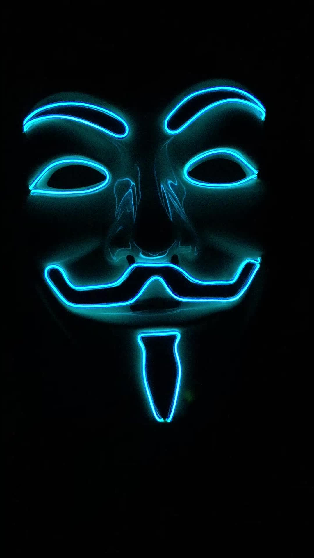 Light Up Anonymous Mask Karice