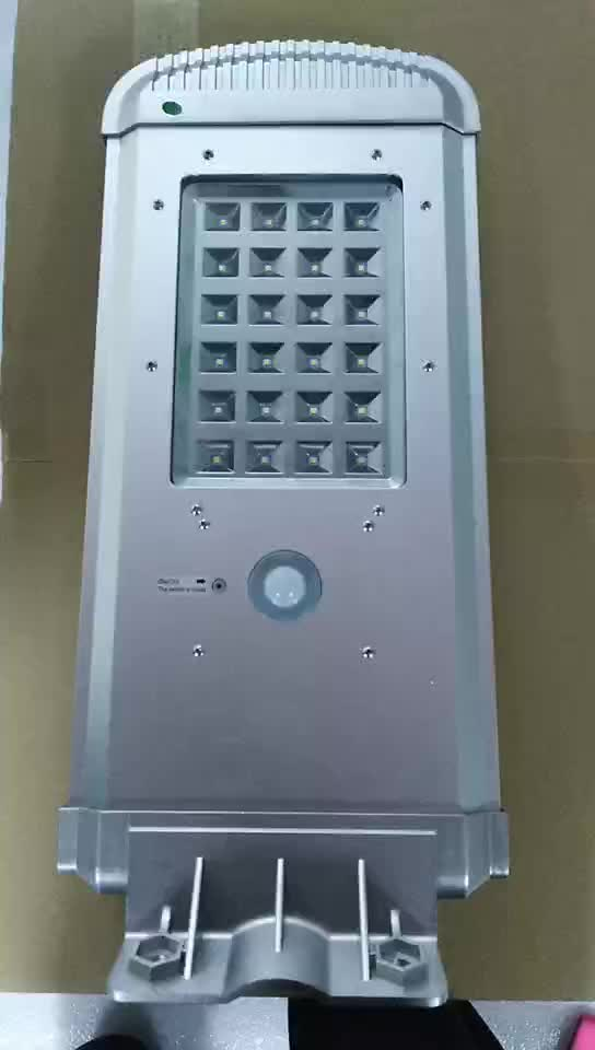 Latest Design Nice Price LED Outdoor Lighting All In One Solar Street Light Integrated Type