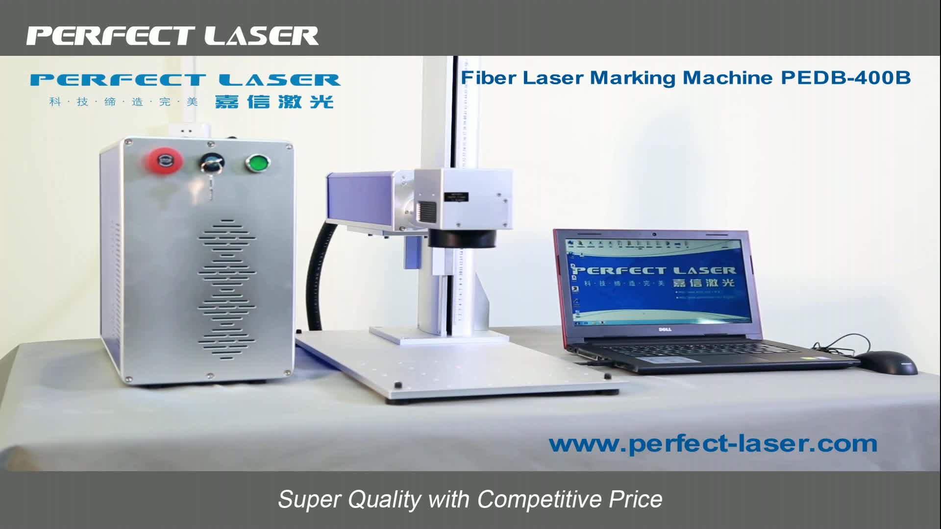 High precision best Jewelry metal fiber laser engraver price for sale with rotary device