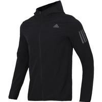 Adidas阿迪达斯外套男装2021秋季新款梭织连帽运动上衣夹克CY5776