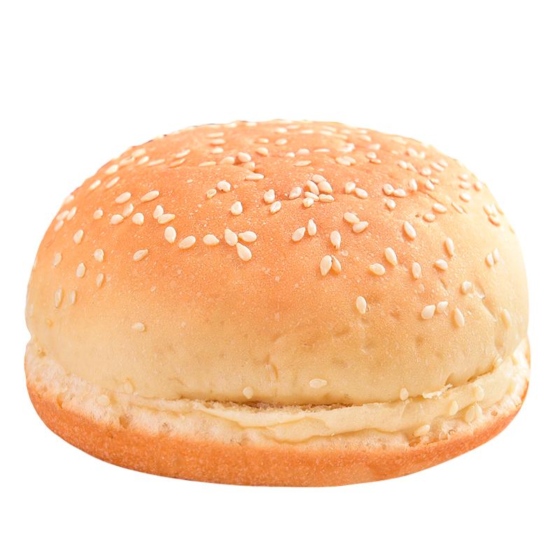 汉堡包胚汉堡半成品早餐汉堡胚面包