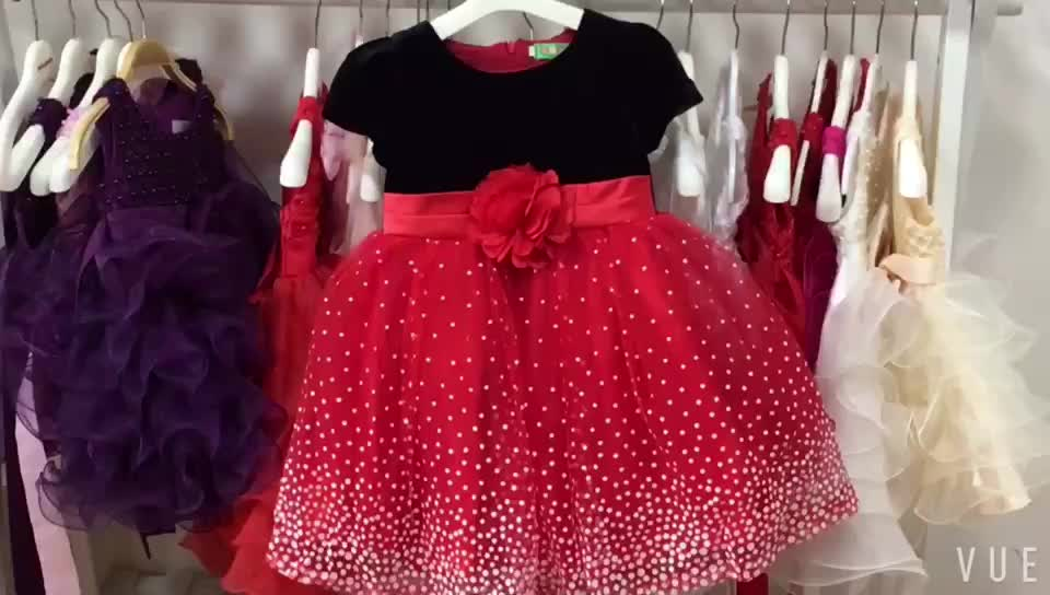 Wholesale Clothes Children Short Sleeves Boutique Dress Turkey Istanbul - Buy -2127