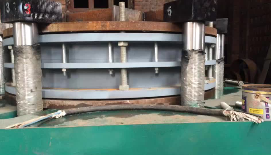 PN16 carbon steel material dismantling joint flanged expansion joint