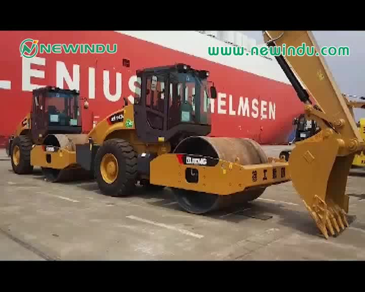 New road machinery 18 ton road roller price XS183J