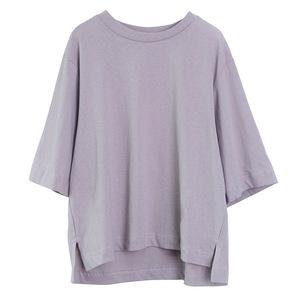 女童七分袖韩版儿童夏装不对称t恤