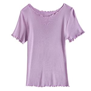 冰丝短袖t恤夏2021年新款打底衫