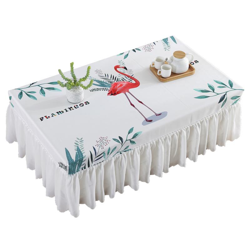 北欧防水长方形茶几布套餐桌垫台布评价如何