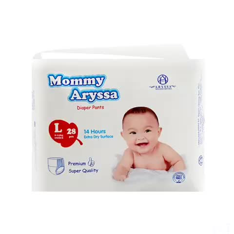 Best Product Super Absorbency Mother Wanted Sleepy Baby Training Pants