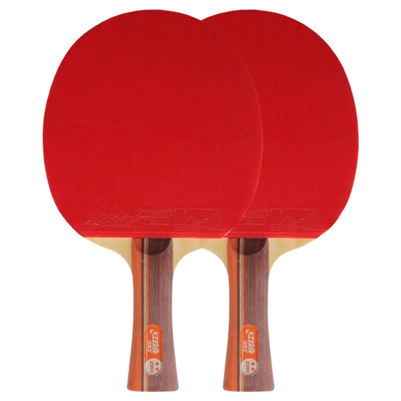 红双喜二三星四星单拍1只乒乓球拍