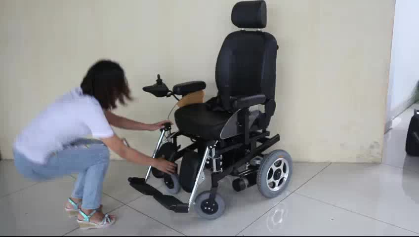120kg load-bearing folding cheap price electric wheelchair
