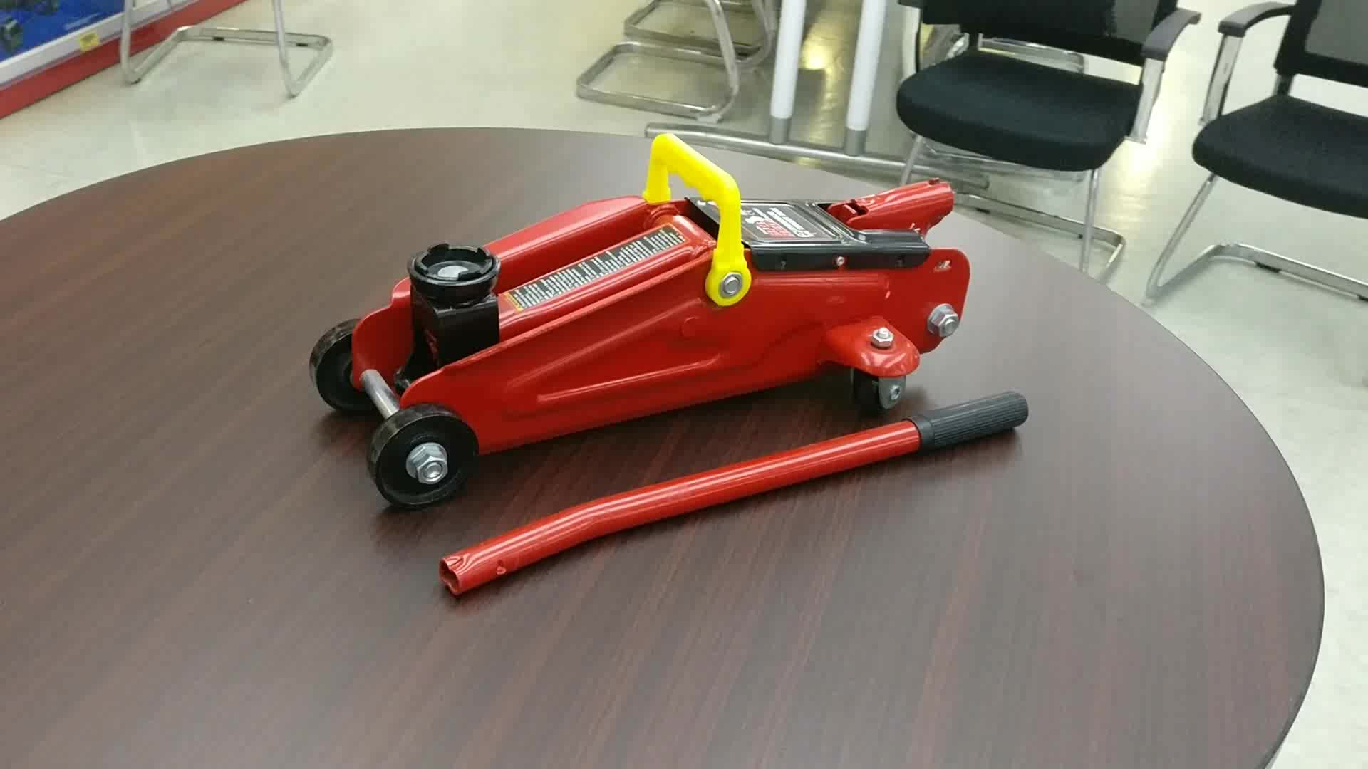 2 Ton Hydraulic Low Profile Trolley Jack with GS CE 360 Degree Rotating Handle T825010RS-GS