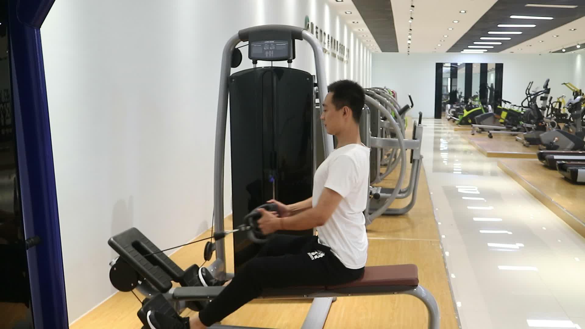 Máquina de extensão traseira de máquina de fitness