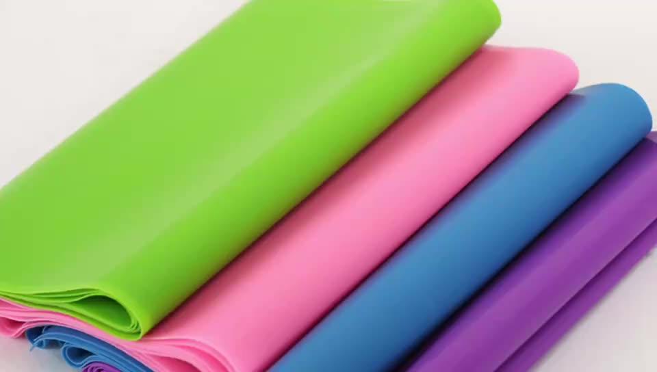 Groothandel latex 5 niveaus rubber Yoga loop weerstand band