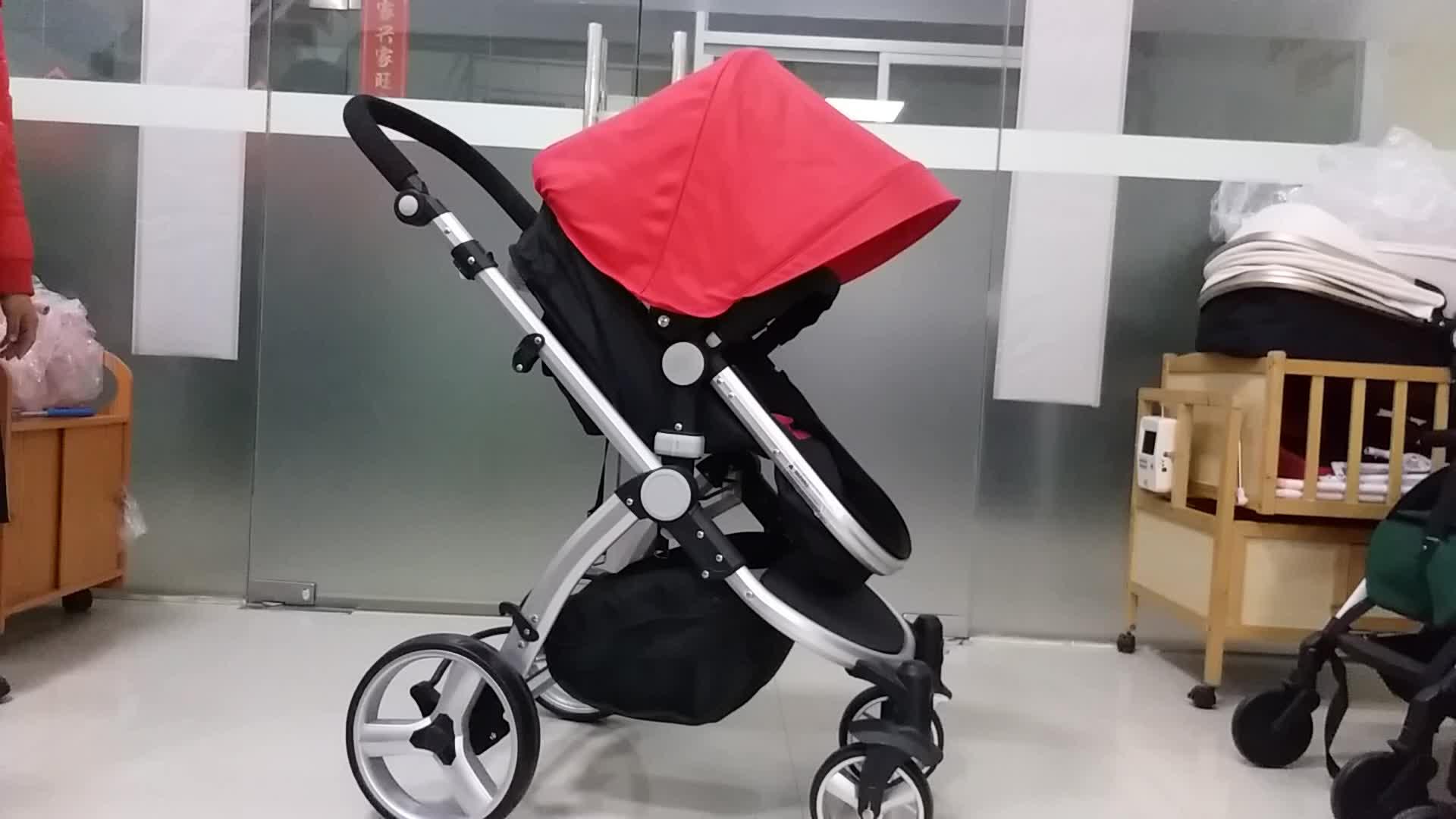 Easy Foldding Luxury Baby Stroller 3 in 1 2017