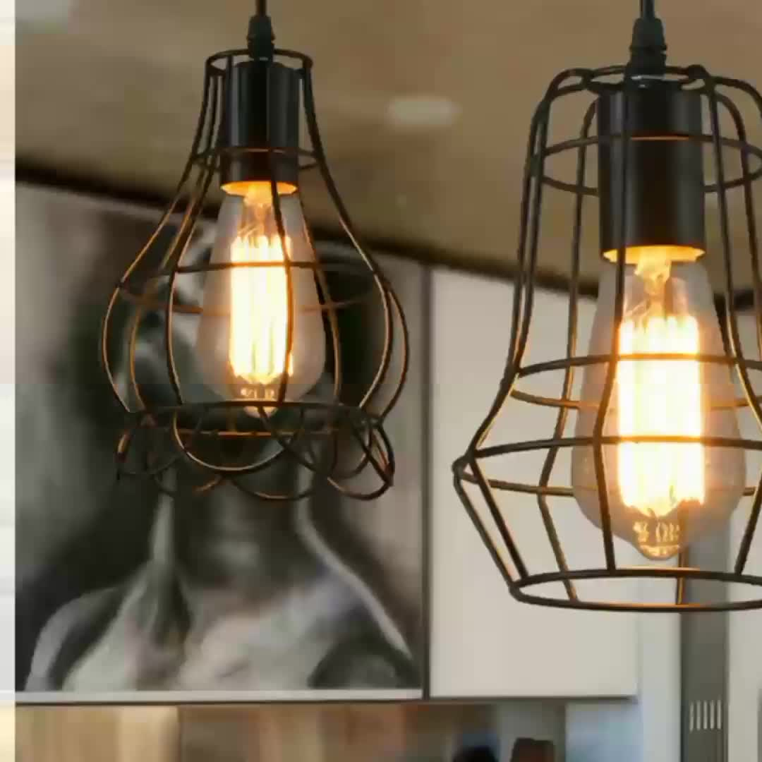 Lightings: Ceiling Vintage Modern Pendent Lightings Filament Led