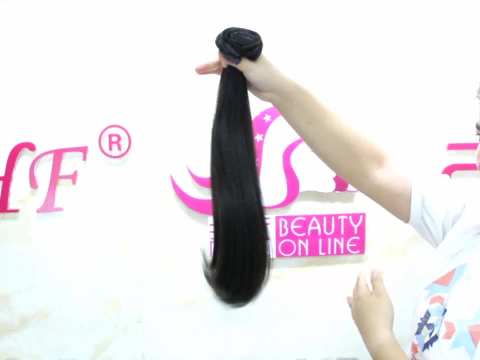 8-30 Inch 100% Brazilian Human Remy Hair Top Quality Double Drawn Thick End Full Head Clip In hair extension