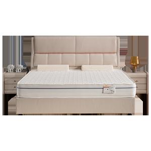 麒麟天然席梦思1.8 m弹簧床垫硬垫