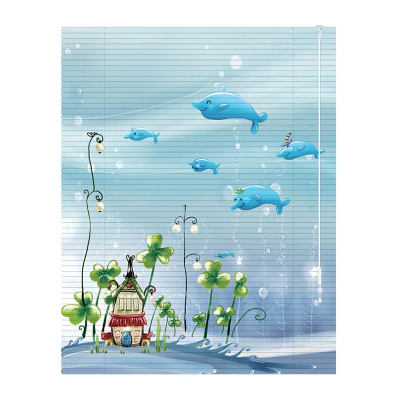 铝合金遮光家用厨房卧室防水百叶窗好用吗