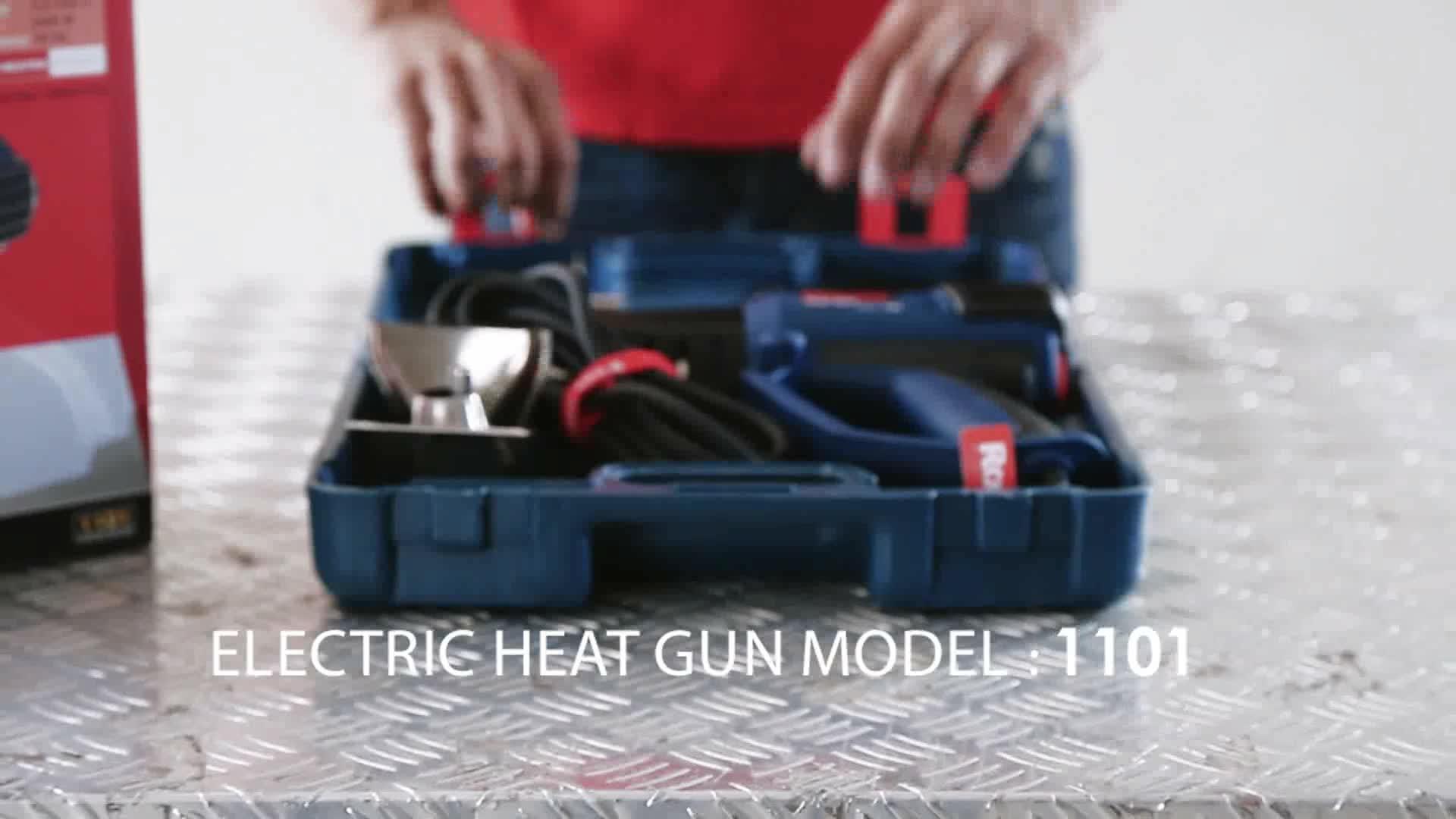 Ronix New Design Modell 1102 Heißluft Hochdruck 2000 Watt Sicherheit Temperaturregelung heißer Verkauf Heißluftpistole