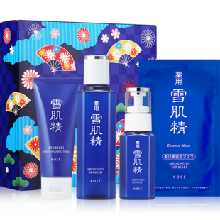 Snow flagine official flagship store - Feng Shui Skin Milk Cleansing set