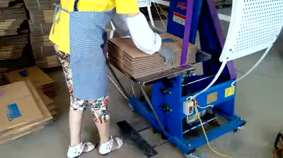 corrugated paperboard automatic binding machine
