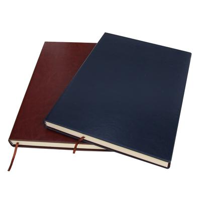 得力笔记本子记事本商务16K大号本子a5A4加厚办公定制可印logo硬皮面公司笔记本订做刻字礼盒简约大学生文具