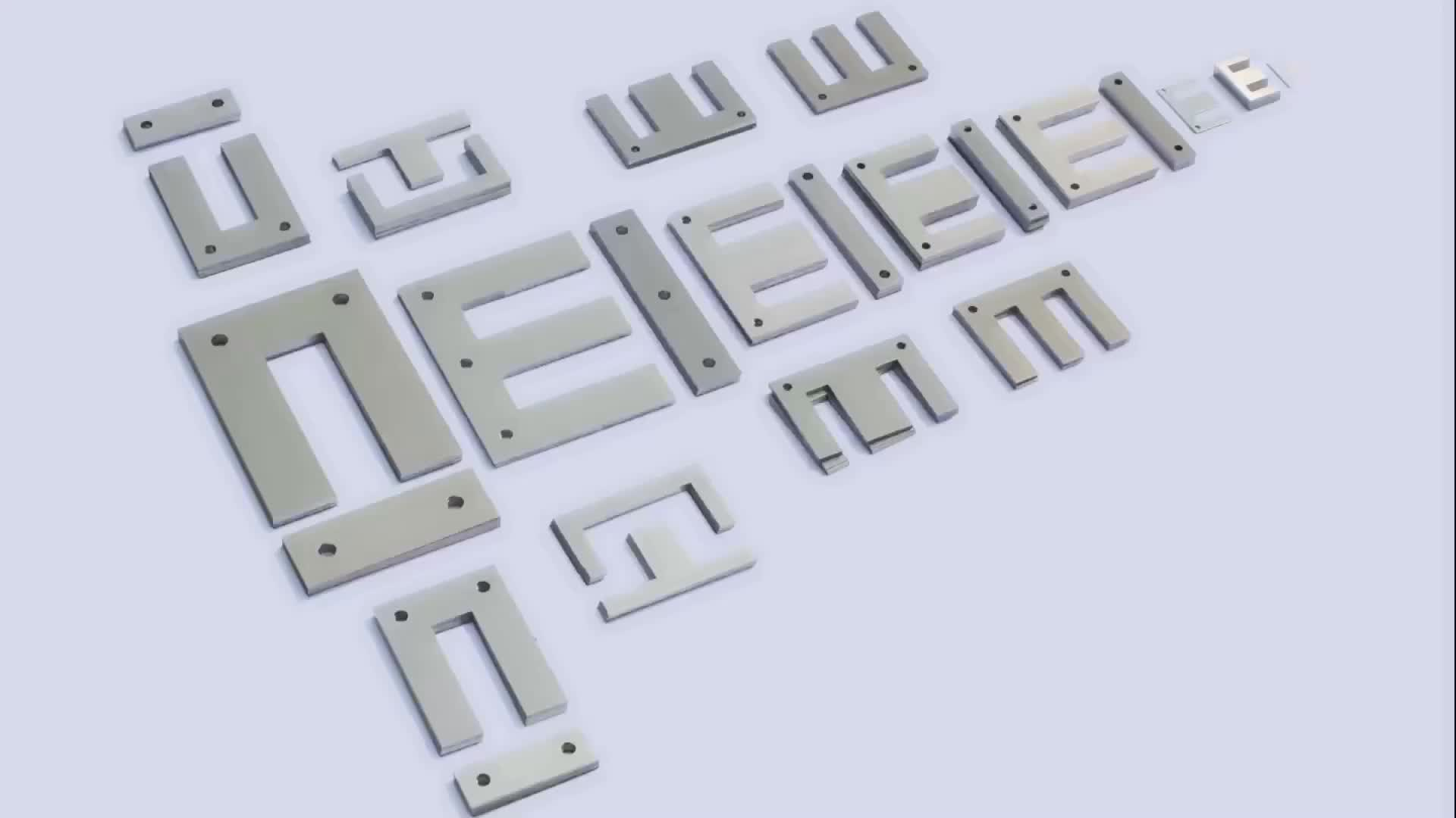 CRNGO silicon steel lamination transformer core EI sheet
