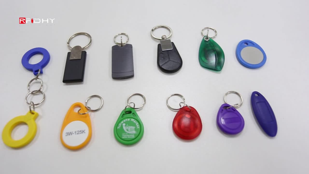 High Quality Customized Smart ABS Key Fob Hardware with Ring