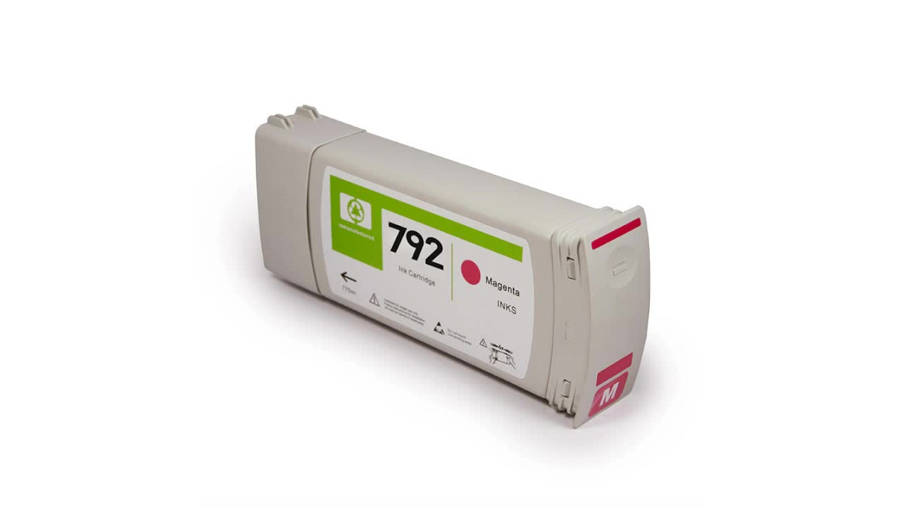 Ocbestjet 792 Recycle Compatible Ink Cartridges For HP 792 For HP Latex 210 260 280 L26100 L26500 L28500 Printer