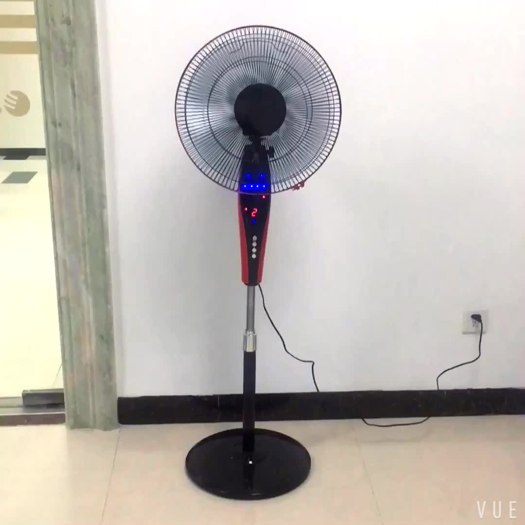 High quality 3 speed choices national stand fans with remote control