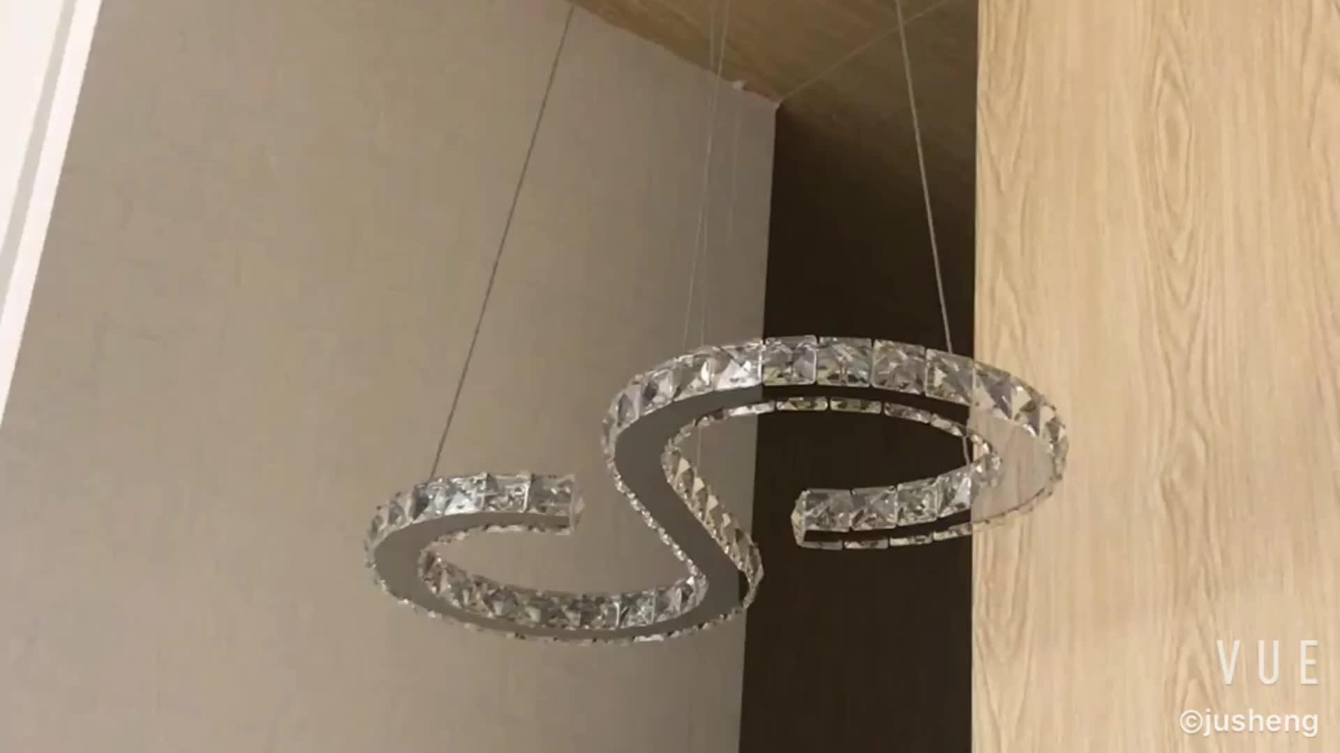 New Design White Black Fancy Hanging Light Bar Pendant Lights 100-240V