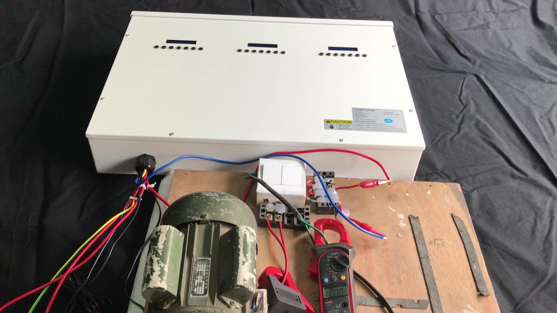 Intelligent Electricity-saving box /power saver/energy saving unit for Industry use