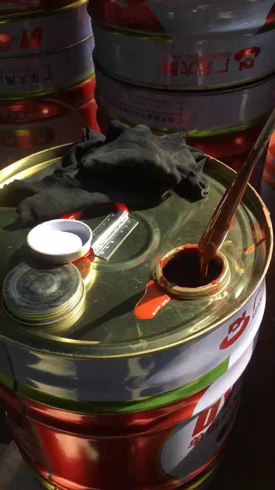 ISO Certified Single Component Polyurethane Waterproofing Paint for Roof