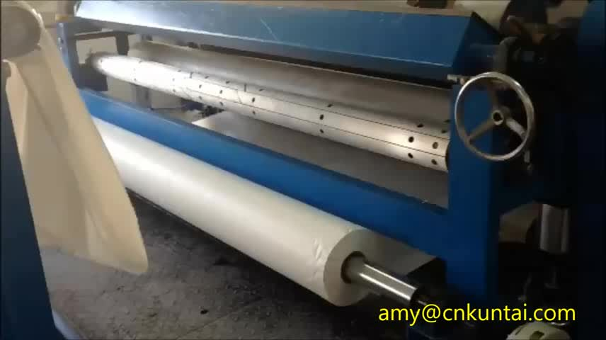 Glue dot transfer Laminating machine for textiles