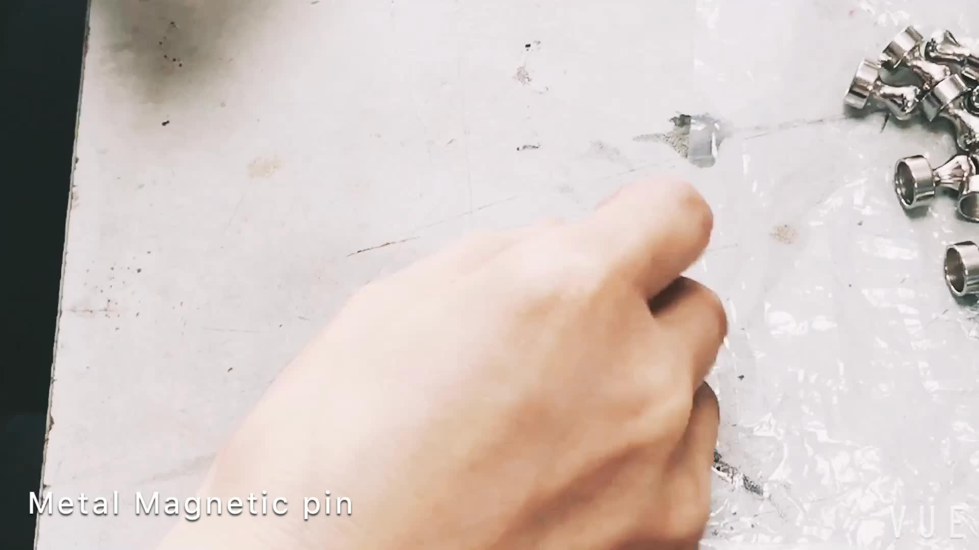 Süper Güçlü Neodimyum Skittle Metal itme pimi Mıknatıs