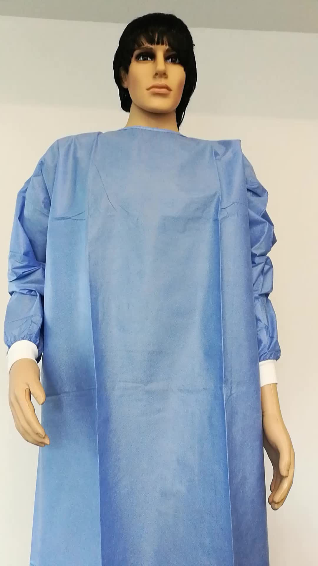 Sms Disposable Waterproof Isolation Gown With Low Price - Buy Yellow ...
