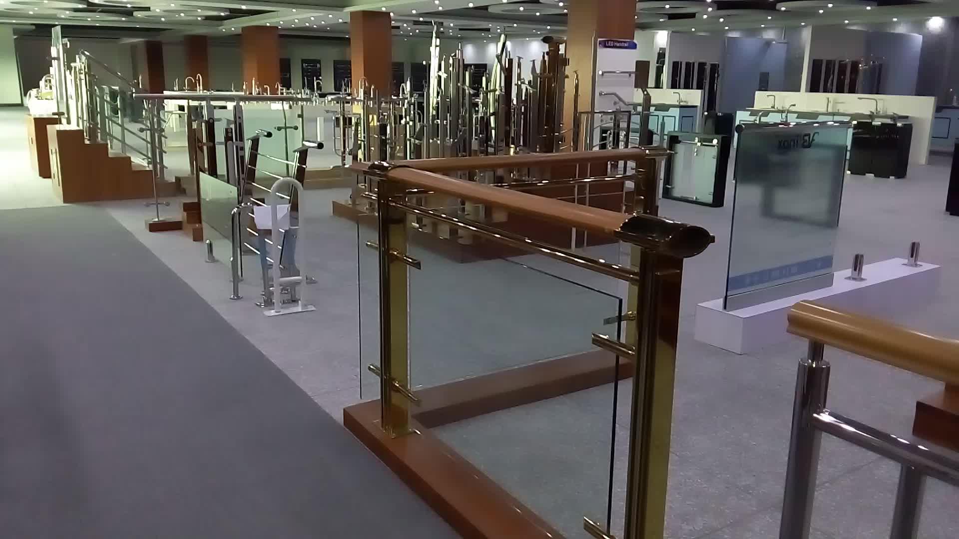 Hi-Q 304 plexiglass deck railing