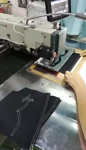 automatic programmable pattern industrial sewing machine