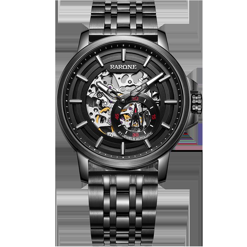 正常发货雷诺2020新款手表男官方正品镂空全自动机械男表时尚潮流