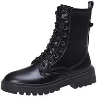 瘦瘦ins潮2021年新款秋鞋黑马丁靴好用吗