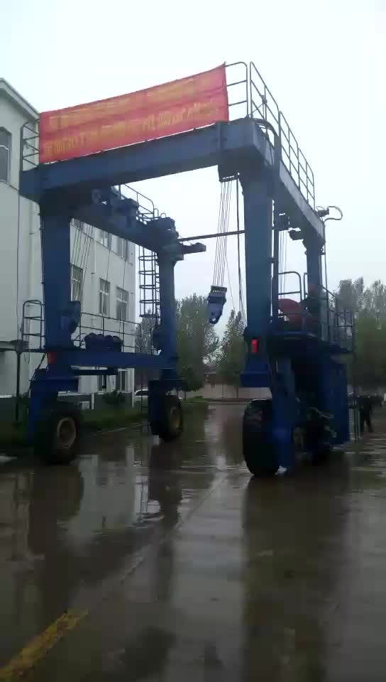 350 ton travel boat lift crane